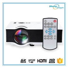 2017 Factory Supply UNIC Cheap Full HD 1080P 3D LED Ultra Short Throw Pocket Portable Mini Beam Projector UC40+