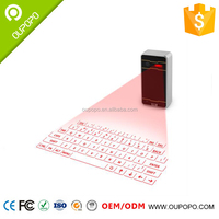 Electronic Product Wireless Laser Projection Bluetooth Virtual Keyboard for Iphone Ipad Smartphone and Tablets with Mouse
