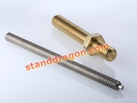 brass stainless steel sewing spare metal turning precise cnc machine parts