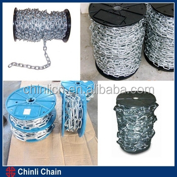 high quality Grade 80 alloy steel load chain G80 chain link