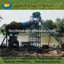 High Recovery Rate Small Gold Barge for Sale