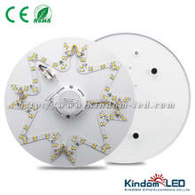 double color ceiling mount led lighting 24W 100lm/w 5730SMD
