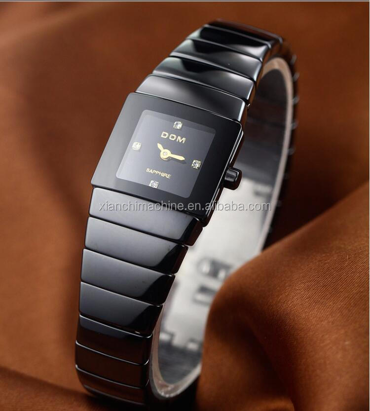 Expensive sapphire crystal ceramic ladies watches