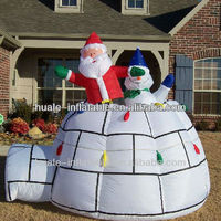 inflatable Father Christmas /Inflatable Christmas gifts Santa Claus