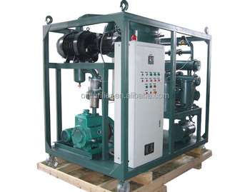 Dielectric Oil Purifier Plants oil recycling machine ZYD