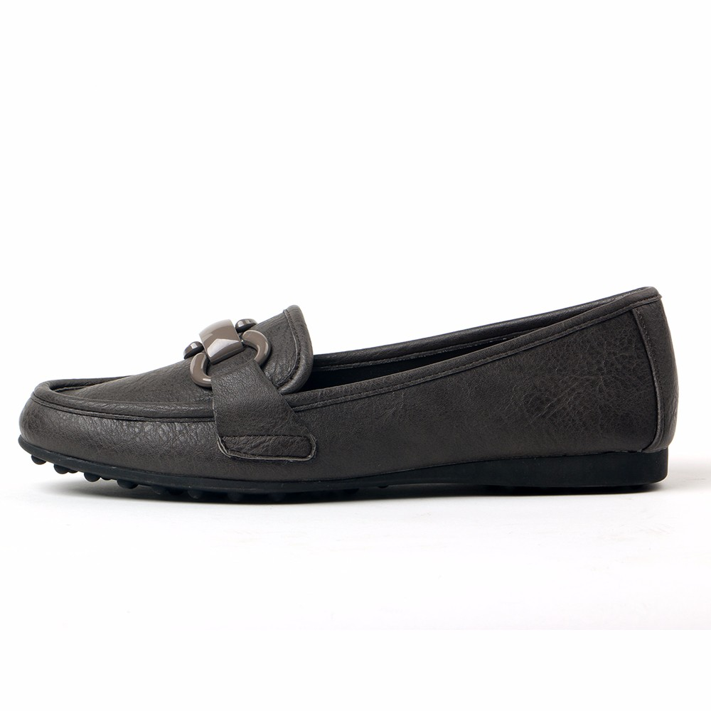 TongPu comfortable lady women casual shoes flat with strap buckle