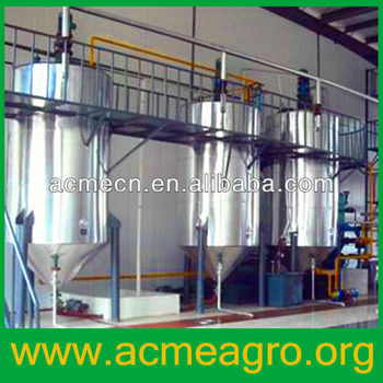 New-technology refined bleached deodorized palm oil equipment