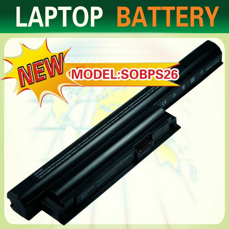 Replacement laptop batteries for SONY VAIO SVE14115FW SVE14115YC SVE14116EC SVE14116ECB SVE14116GN SVE14116GNB series