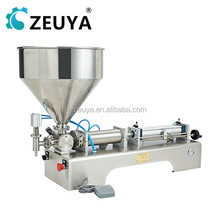 Horizontal Type Single Discharge Hole Pneumatic Manual Liquid Filling Machine for Wine, Cosmetics Filling G1WG