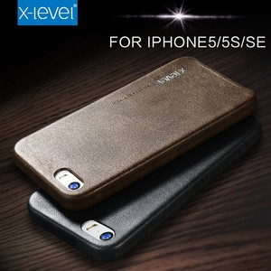 High Quality PU Leather Custom Phone Case Cover for Iphone 5S, for Iphone SE Case