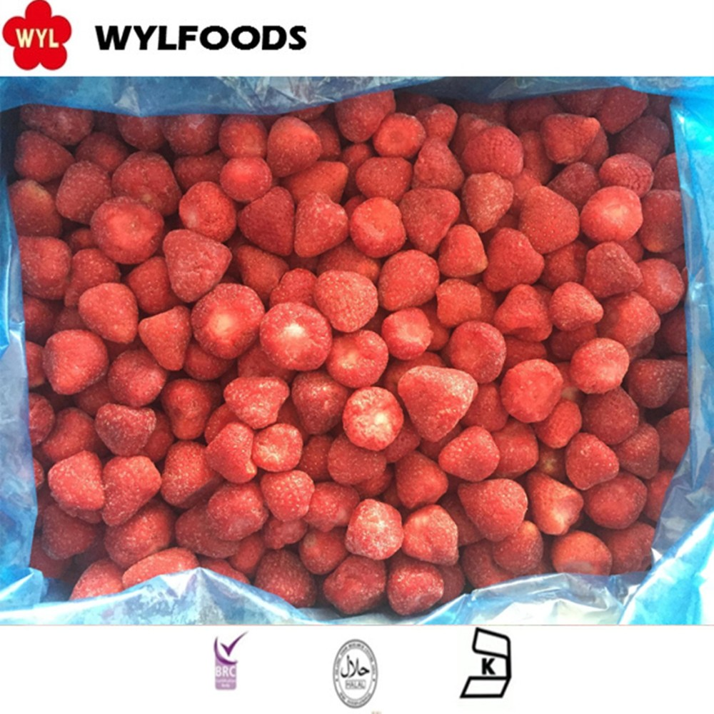 WYLFOODS Brands Bulk Fresh Frozen Honey Strawberry