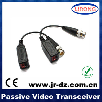 2014 new 1ch passive utp video balun for CCTV with RoHS