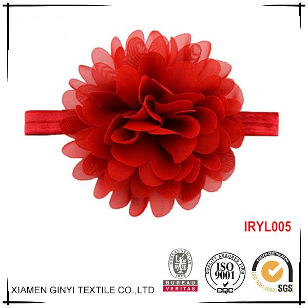 Cheap colorful fashion cute flower children hair accessories