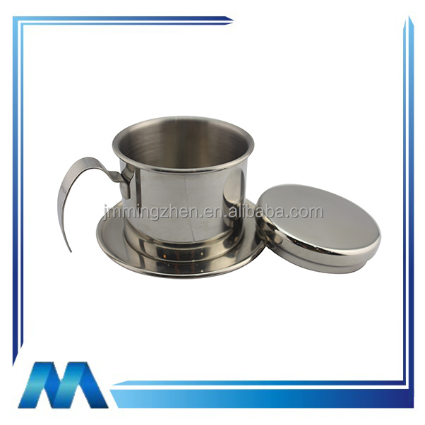 China manufacture supplier stainless steel Vietnam coffee dripper coffee maker