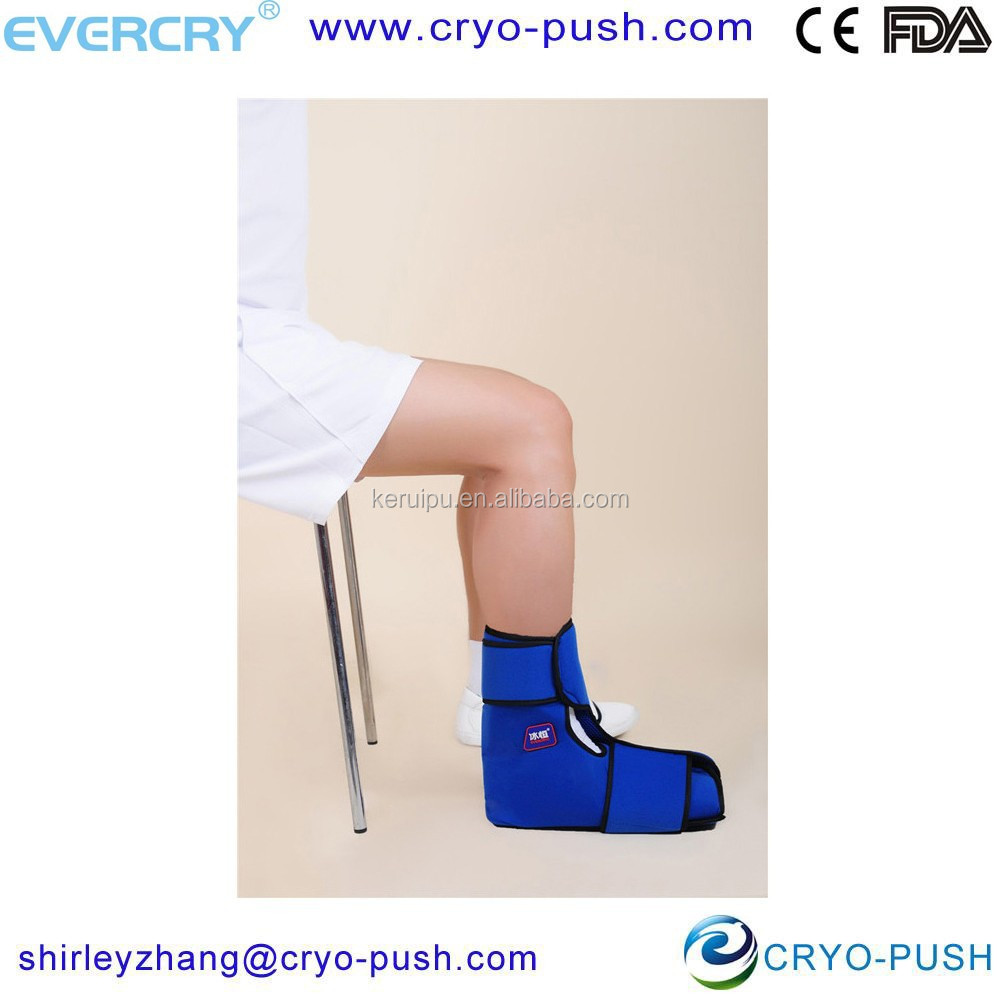 hot with cold therapy machine for ankle wrap