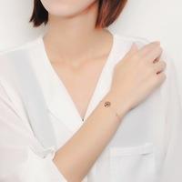manufacturer Rose gold plating european pearl bracelet beads
