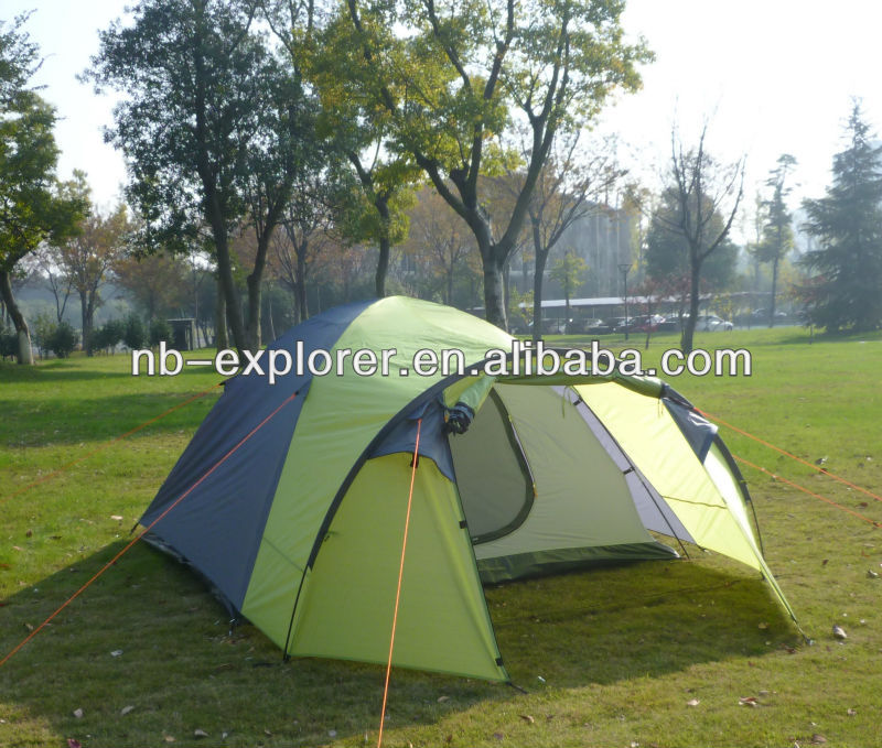 4person tent with big store space / 2014 popular outdoor camping tent