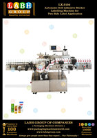Automatic Self Adhesive Sticker Labelling Machine for Two Side Label Application