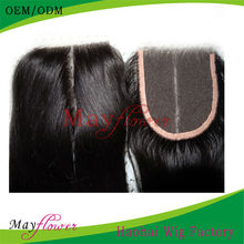 virgin hair lace weave with middle part closures remy indian hair pieces