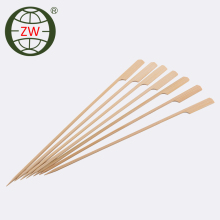 bamboo skewers safe flat bamboo skewer