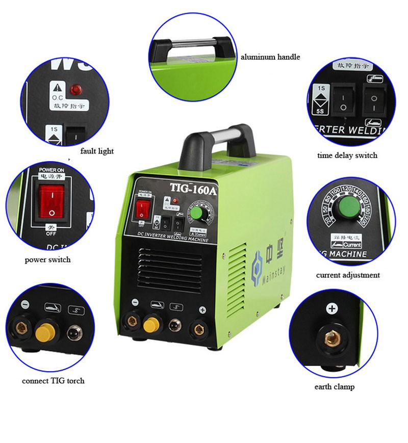 Top Rate Chinese Welding Supplier TIG160 Welding Machine
