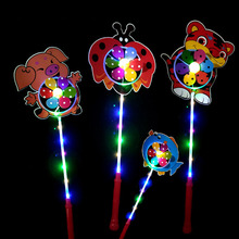 Pinwheels Flight Light Led light up color <strong>windmill</strong> flash animal led <strong>windmill</strong> for Kid's