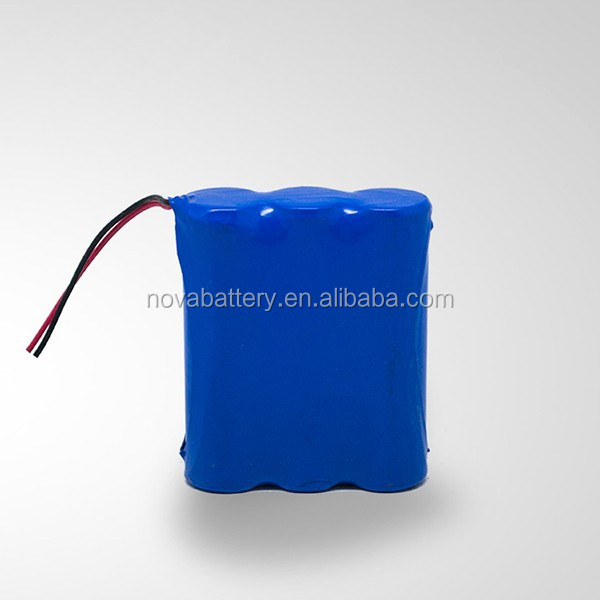 18650 2000mah 9.6v li-ion rechargeable battery pack