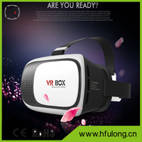 2016 Professional VR Headset BOX II 2 3D Glasses Upgraded Version Virtual Reality 3D VR Helmet Video Glasses+ Bluetooth Remote