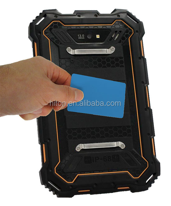 Factory original 7inch quad core NFC waterproof rugged tablet with GPS IP68 waterproof dustproof rugged tablet pc pad computer