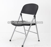 home furniture cheap outdoor plastic used metal folding chair for sale dining room chair