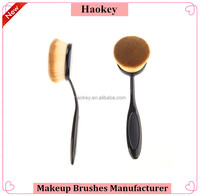 1 Piece Single Women Pro Cosmetic Face Concealer and Foundation Oval Toothbrush makeup brush for lady girls