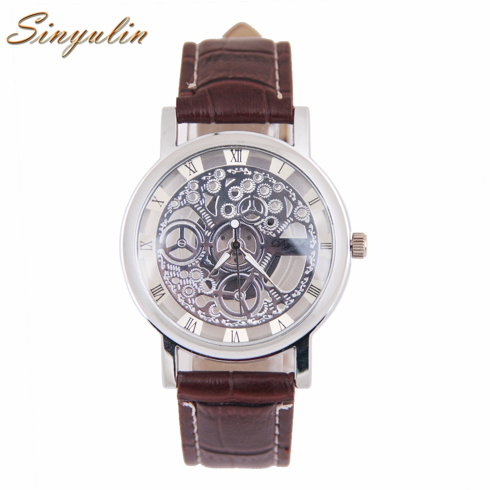2016 New Arrival Leather Band Japan Movt Quartz Watches Men Quartz Wristwatch Chronograph