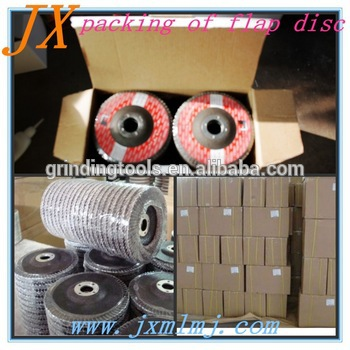 Flat Plate Nylon Plastic Backing Flap Disc