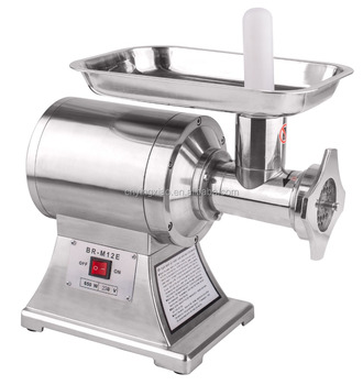 Meat Grinder Mincer, Stainless Steel Industrial Portable Electric AL-12