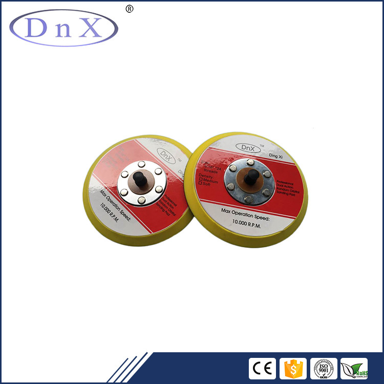 Good round hook and loop backing car polishing pads use with sanding disc