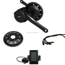 Bafang max drive system Mid drive motor Electric bike conversion kit 36V500W electric crank motor middle motor