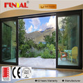 North America Style HB70 series Aluminum Sliding Door comply with CE certificate from China factory