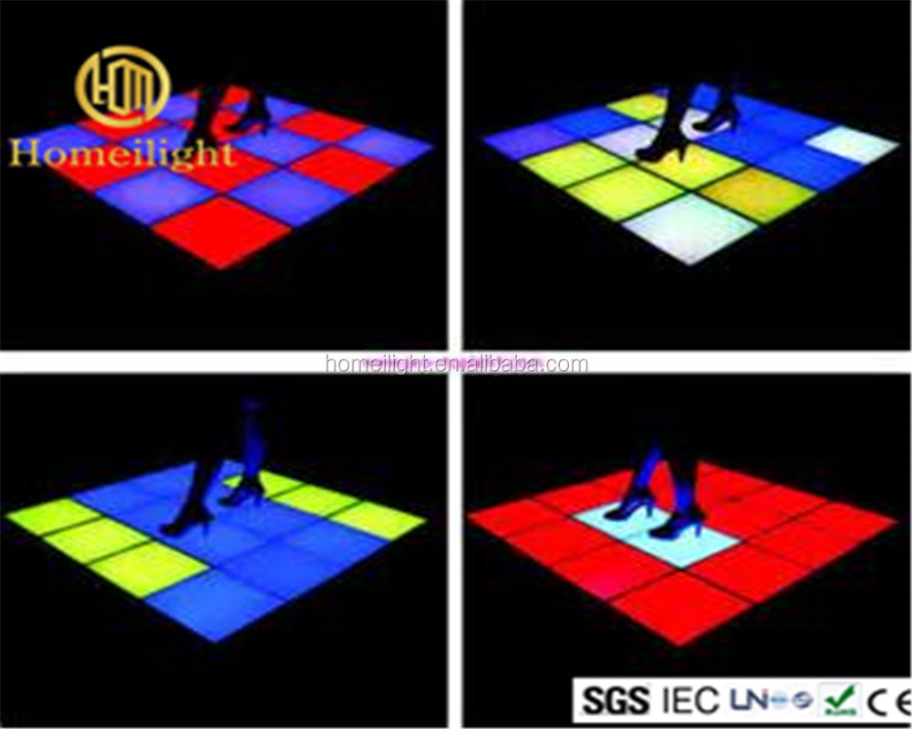 Wedding Night Club LED Dancing Panels Light RGB Colorful LED Dance Floor