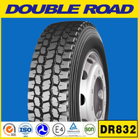 2015 best chinese brand DOUBLE ROAD 11r24.5 truck tires