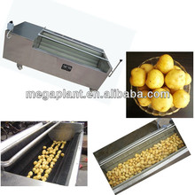Sweet potato carrot vegetable washer / ultrasonic fruit and vegetable cleaner