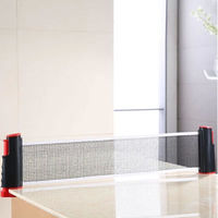 2014 new arrival Sports Anywhere Table Tennis Set Ping Pong Set Portable Post Net Post