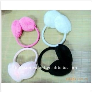 Fashion winter fur earmuffs