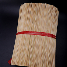 Custom round bamboo stikcs for making incense