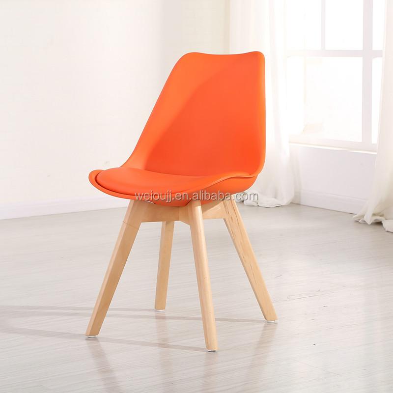 Precio bajo de las piernas de madera sala de estar silla for Sillas de plastico precio