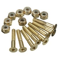 Color skateboard wholesale nuts and bolts,grade 8 bolts