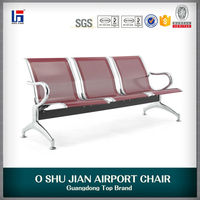 Foshan the price of 3 seater stainless gang chairs