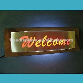 Welcome Light Sign(FD-0001)