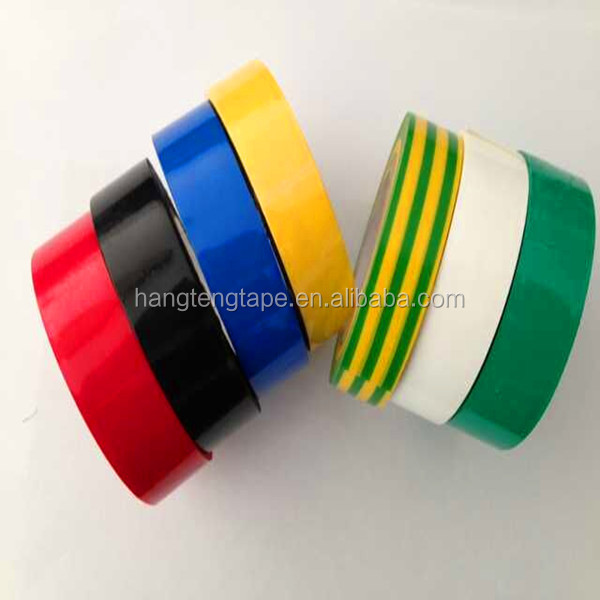 For Electrically Insulate Joints Colorful PVC Flame Retardant Tape