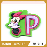 customized souvenir promotional Minnie pvc fridge magnet for kids