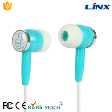 Promotion cute fancy in-ear wired earphone